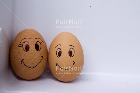 Fair Trade Photo Colour image, Couple, Egg, Food and alimentation, Friendship, Funny, Horizontal, Love, Marriage, Peru, Smile, South America, Together, Wedding