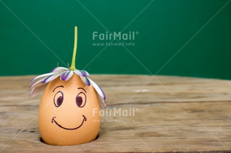 Fair Trade Photo Colour image, Easter, Egg, Flower, Funny, Horizontal, Peru, Smile, South America