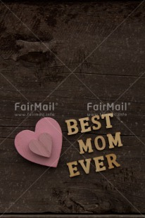 Fair Trade Photo Brown, Colour image, Heart, Horizontal, Letters, Love, Mothers day, Peru, Pink, South America, Text, Vertical, Wood