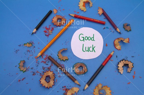 Fair Trade Photo Activity, Blue, Business, Colour image, Crayon, Desk, Eraser, Exams, Good luck, Horizontal, Multi-coloured, Office, Paper, Pen, Pencil, Peru, School, Scissors, Sharpening, South America, Text