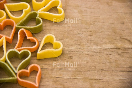 Fair Trade Photo Colour image, Fathers day, Food and alimentation, Heart, Love, Macaroni, Marriage, Mothers day, Peru, South America, Valentines day, Wedding