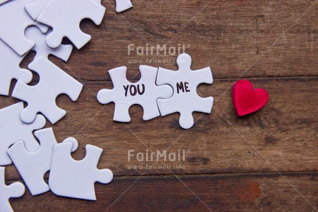 Fair Trade Photo Colour image, Couple, Heart, Love, Marriage, Peru, Puzzle, Red, South America, Together, Valentines day, Wedding, White