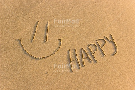 Fair Trade Photo Activity, Colour image, Emotions, Happiness, Happy, Horizontal, Letters, Peru, Sand, Smile, Smiling, South America