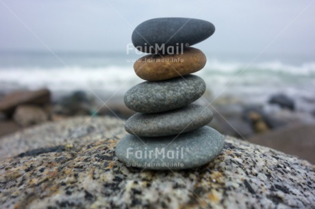 Fair Trade Photo Balance, Beach, Colour image, Condolence/Sympathy, Day, Horizontal, Outdoor, Peru, Sea, South America, Stone, Water, Wellness