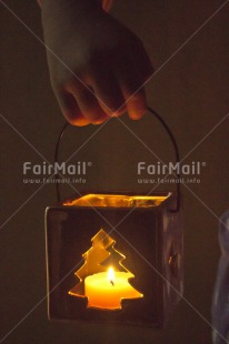 Fair Trade Photo Candle, Christmas, Closeup, Colour image, Flame, Light, Peace, Peru, Seasons, Shooting style, South America, Tree, Vertical, Warmth, Winter