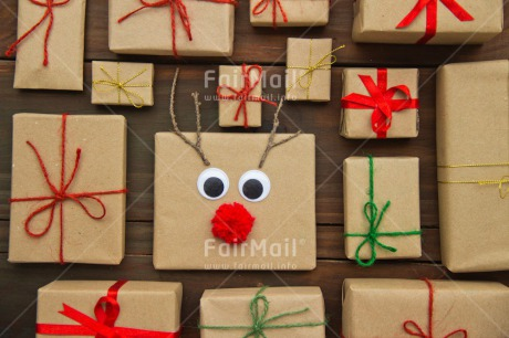 Fair Trade Photo Brown, Christmas, Colour image, Crafts, Face, Gift, Indoor, Nose, Peru, Red, Reindeer, Seasons, South America, Table, Winter, Wood
