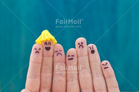 Fair Trade Photo Business, Colour image, Different, Emotions, Face, Finger, Group, Hand, Happiness, Indoor, Peru, Smile, Smiling, South America, Studio, Success