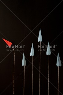 Fair Trade Photo Activity, Airplane, Arrow, Blue, Business, Colour image, Different, Exams, Flying, Indoor, New Job, Office, Paper, Peru, Red, South America, Studio, Success