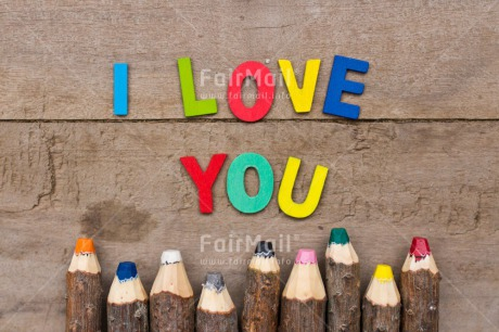 Fair Trade Photo Colour image, Colourful, Crayon, Emotions, Friendship, Happiness, Letters, Love, Multi-coloured, Peru, South America, Text, Valentines day, Wood