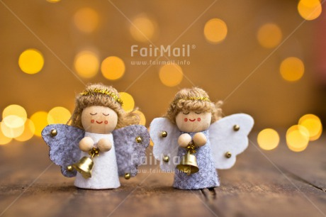 Fair Trade Photo Angel, Christmas, Colour image, Light, Night, Peru, Seasons, South America, Two, Winter