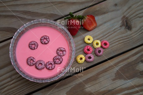 Fair Trade Photo Colour image, Food and alimentation, Get well soon, Health, Horizontal, Peru, Smile, South America, Wellness, Yoghurt