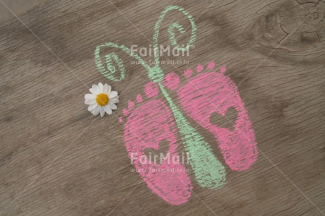 Fair Trade Photo Colour image, Foot, Heart, Horizontal, New baby, Peru, South America