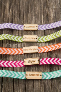 Fair Trade Photo Birthday, Bracelet, Colour image, Emotions, Enjoy, Friendship, Happiness, Love, Multi-coloured, Peru, South America, Sun, Vertical, Wood