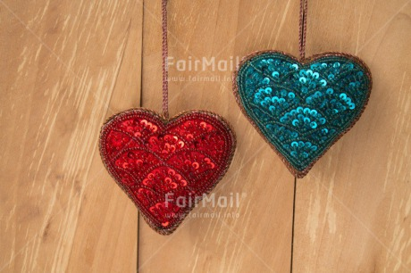 Fair Trade Photo Blue, Christmas, Colour image, Fathers day, Hanging, Heart, Horizontal, Love, Mothers day, Peru, Red, South America, Valentines day, Wood