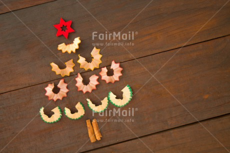 Fair Trade Photo Brown, Christmas, Colour image, Crayon, Horizontal, Indoor, Peru, Seasons, South America, Star, Tree, Winter, Wood