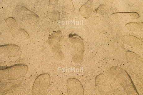 Fair Trade Photo Activity, Barefeet, Beach, Business, Circle, Colour image, Different, Footstep, Friendship, Outdoor, Peru, Sand, South America, Team, Walking