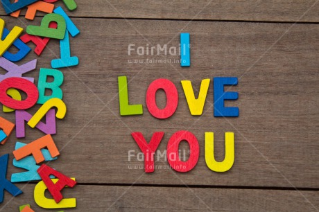 Fair Trade Photo Colour image, Colourful, Letters, Love, Multi-coloured, Peru, South America, Table, Text, Valentines day, Wood