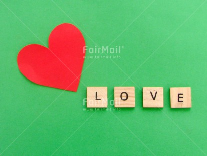 Fair Trade Photo Colour image, Green, Heart, Horizontal, Letters, Love, Peru, Red, South America, Text, Valentines day