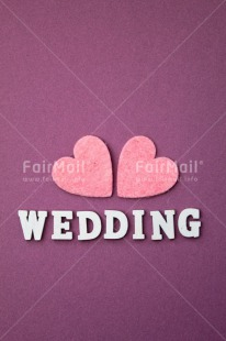 Fair Trade Photo Colour image, Couple, Heart, Letters, Love, Marriage, Peru, Pink, Purple, South America, Text, Two, Wedding, Wood