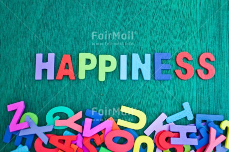 Fair Trade Photo Colour image, Colourful, Emotions, Happiness, Happy, Horizontal, Indoor, Letter, Letters, Multi-coloured, Peru, South America, Text