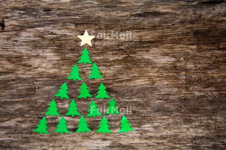 Fair Trade Photo Christmas, Colour image, Green, Horizontal, Peru, South America, Tree, Wood