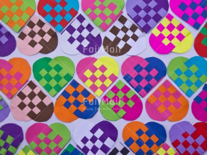 Fair Trade Photo Artistique, Background, Colour image, Heart, Horizontal, Love, Patterns, Peru, South America