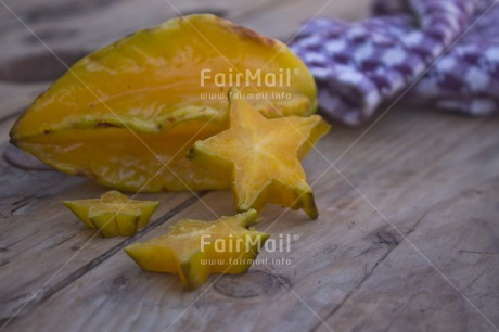 Fair Trade Photo Closeup, Colour image, Food and alimentation, Fruits, Get well soon, Health, Horizontal, Peru, Shooting style, South America, Starfruit, Wellness, Yellow