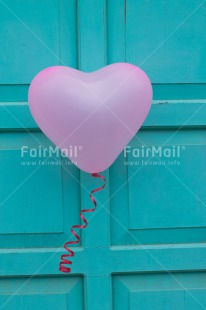 Fair Trade Photo Balloon, Colour image, Door, Heart, Love, Marriage, Peru, South America, Valentines day, Vertical, Wedding