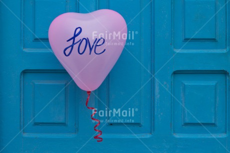 Fair Trade Photo Balloon, Colour image, Door, Heart, Horizontal, Love, Marriage, Peru, South America, Valentines day, Wedding