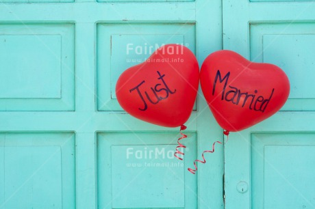 Fair Trade Photo Balloon, Colour image, Heart, Horizontal, Love, Marriage, Peru, Red, South America, Valentines day, Wedding