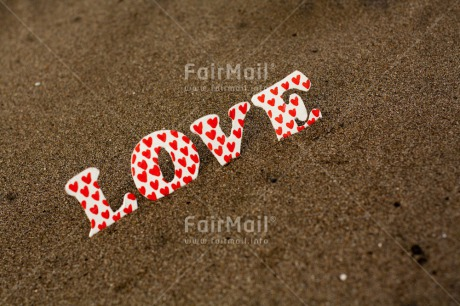Fair Trade Photo Colour image, Horizontal, Letter, Love, Peru, South America, Valentines day