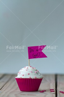 Fair Trade Photo Birth, Colour image, Cupcake, Girl, New baby, People, Peru, Pink, South America, Vertical