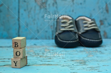Fair Trade Photo Birth, Boy, Colour image, Horizontal, New baby, People, Peru, Shoe, South America