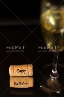 Fair Trade Photo Activity, Birthday, Black, Celebrating, Colour image, Cork, Glass, Indoor, Peru, South America, Studio, Vertical