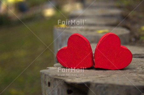 Fair Trade Photo Colour image, Day, Fathers day, Heart, Horizontal, Mothers day, Nature, Outdoor, Path, Peru, Red, South America, Two, Valentines day, Wood