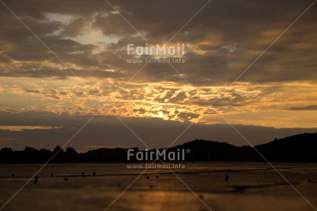 Fair Trade Photo Clouds, Colour image, Evening, Horizontal, Peru, Shooting style, Silhouette, Sky, South America, Sunset