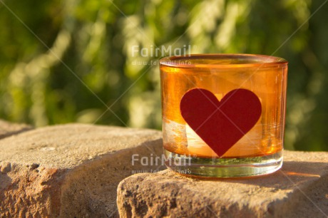 Fair Trade Photo Brick, Candle, Colour image, Day, Fathers day, Glass, Green, Heart, Horizontal, Love, Mothers day, Nature, Outdoor, Peru, South America, Valentines day
