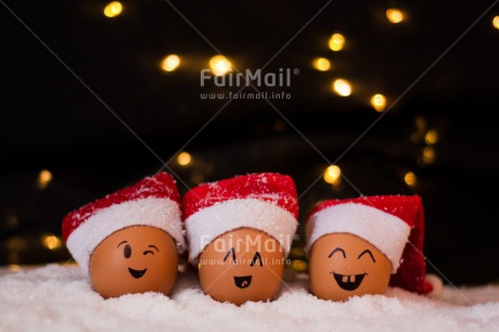 Fair Trade Photo Activity, Black, Celebrating, Christmas, Clothing, Colour image, Egg, Face, Friendship, Fun, Funny, Hat, Horizontal, Indoor, Joy, Night, Peru, Santaclaus, Seasons, Smile, Smiling, Snow, South America, Star, Studio, Winter