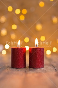 Fair Trade Photo Candle, Christmas, Colour image, Flame, Light, Night, Peru, Red, Seasons, South America, Warmth, Winter