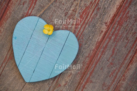 Fair Trade Photo Blue, Colour image, Fathers day, Flower, Heart, Love, Marriage, Mothers day, Peru, South America, Valentines day, Wedding, Wood
