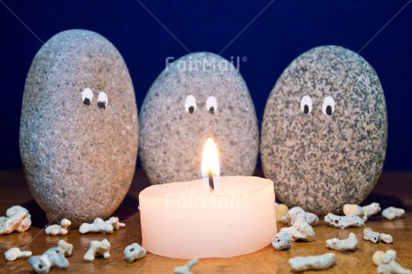 Fair Trade Photo Adjective, Candle, Christmas, Colour image, Condolence/Sympathy, Family, Horizontal, Light, Nature, Object, People, Peru, Place, Rock, South America