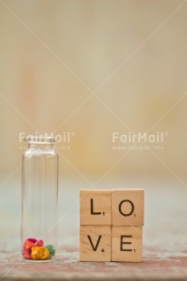 Fair Trade Photo Colour image, Jar, Letter, Love, Marriage, Peru, Red, South America, Text, Thinking of you, Valentines day, Vertical, Wedding, White