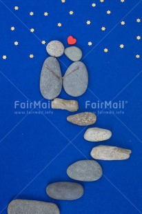 Fair Trade Photo Blue, Colour image, Couple, Heart, Love, Peru, Resd, Rock, Sky, South America, Star, Thinking of you, Valentines day, Vertical, Wedding