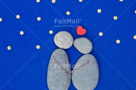 Fair Trade Photo Blue, Colour image, Couple, Heart, Horizontal, Love, Peru, Resd, Rock, Sky, South America, Star, Thinking of you, Valentines day, Wedding