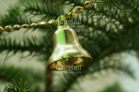 Fair Trade Photo Christmas, Christmas bell, Closeup, Colour image, Decoration, Horizontal, Peru, South America