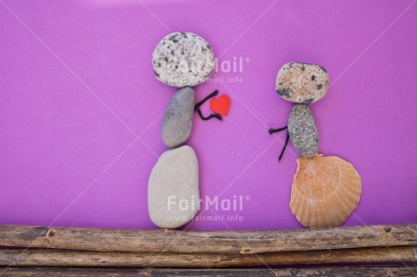 Fair Trade Photo Colour image, Couple, Heart, Horizontal, Love, Peru, Purple, Rock, South America, Thinking of you, Valentines day, Wedding