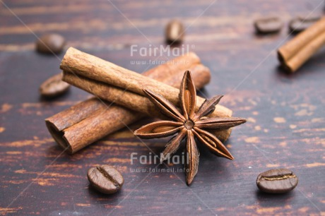 Fair Trade Photo Adjective, Anise, Brown, Christmas, Christmas decoration, Cinnamon, Coffee, Colour, Colour image, Drink, Food and alimentation, Horizontal, Object, Place, South America, Wood