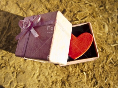 Fair Trade Photo Box, Colour image, Gift, Heart, Horizontal, Love, Peru, South America, Tabletop, Thank you, Valentines day