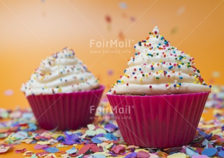Fair Trade Photo Birthday, Cake, Colour image, Colourful, Decoration, Focus on foreground, Food and alimentation, Horizontal, Indoor, Invitation, Multi-coloured, Party, Peru, Pink, South America, Studio, Tabletop