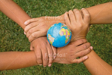 Fair Trade Photo Care, Christmas, Closeup, Colour image, Cooperation, Earth, Environment, Fair trade, Flower, Friendship, Globe, Hand, Horizontal, People, Peru, Responsibility, South America, Sustainability, Two children, Values, World